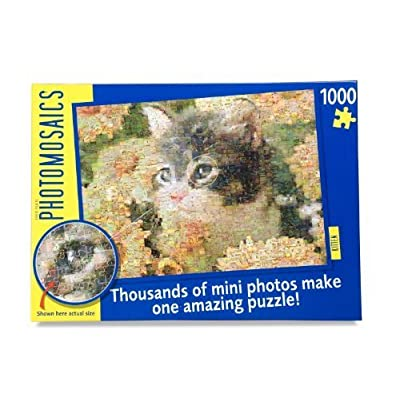 Paul Lamond Games Photomosaic Puzzle Kitten By Paul Lamond Games