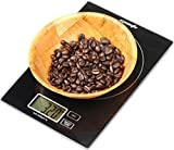 EPAuto Digital Multifunction Kitchen Food Scale, 11lb Capacity by 0.05oz Hi ....