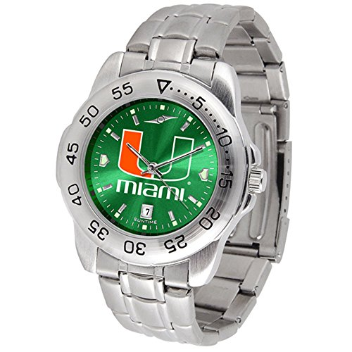 Miami Hurricanes Sport Steel A
