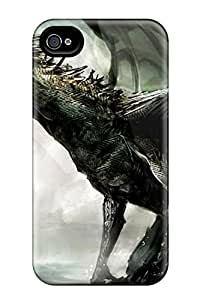 Pretty UCknxhJ3731zlHTS Iphone 4/4s Case Cover/ Screaming Dragon Series High Quality Case