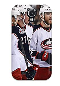 OezHkJY6856ZpfFN Columbus Blue Jackets Hockey Nhl (4) Fashion Tpu S4 Case Cover For Galaxy