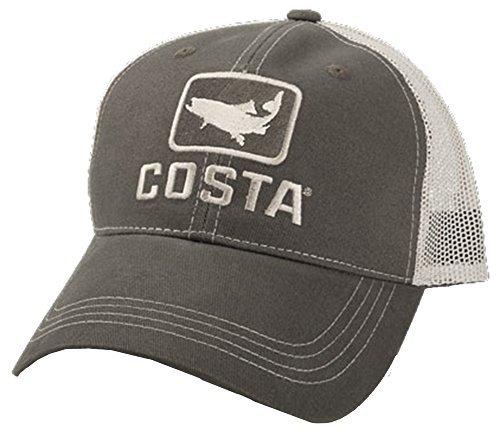 Costa Del Mar HA 17M Trout Trucker Hat XL Moss/Stone