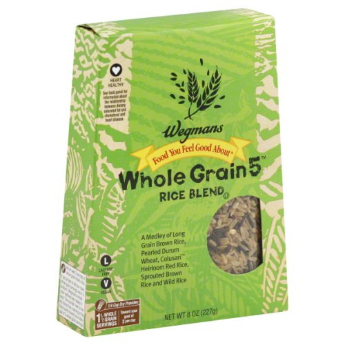 3 PACKS: Wegmans Food You Feel Good About Rice Blend, Whole Grain 5 (8 oz.) by Wegmans