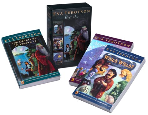 Eva Ibbotson Gift Set (The Secret of Platform 13 / Which Witch? / Island of the Aunts)