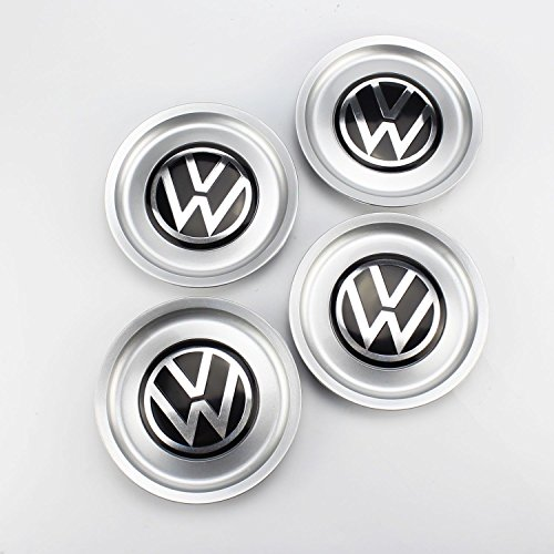 4PCS VW Logo Wheel Center Hub Rim Cap Cover 1J0601149B for Golf Jetta MK4 155mm