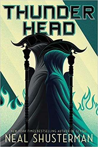 Book cover: Thunderhead by Neal Shusterman