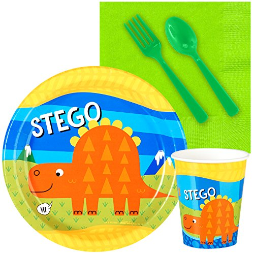 T-Rex Dinosaur Party Supplies - Snack Party Pack