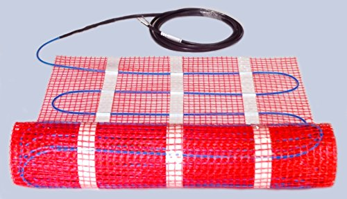 15 Sqft UL Listed 120v Electric Radiant Floor Heating Mat by Sunray (Image #1)
