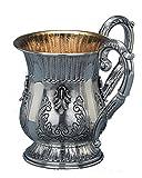 Hazorfim Carmel Netilat Yadayim Sterling silver Israel handmade .925 925 wedding gift present Holy Land Jerusalem Hatzorfim Hazorfim hands washing cup before meal Jewish housewarming