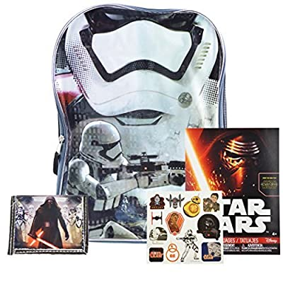 New Star Wars Toys From Episode 7 the Force Awakens Backpack and School Supplies