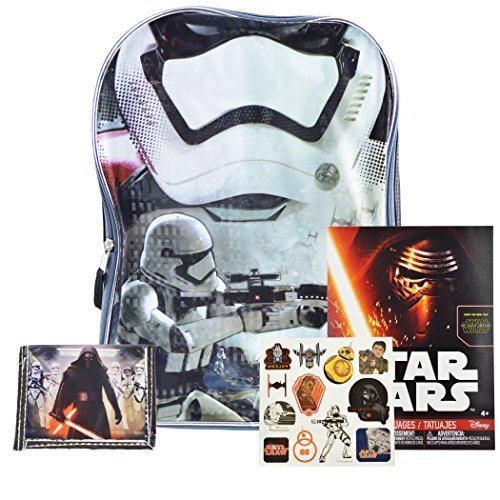 [New Star Wars Toys From Episode 7 the Force Awakens Backpack and School Supplies] (Costumes Cherry Creek)