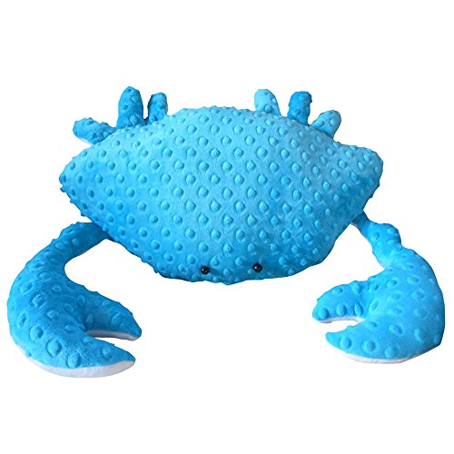 SSJSHOP Crab pillow, teal minky dot crab pillow, nautical decor, 3D crab pillow, coastal living, home decor, beach pillows, crab plushie 18 - Banner Reviews Mattress