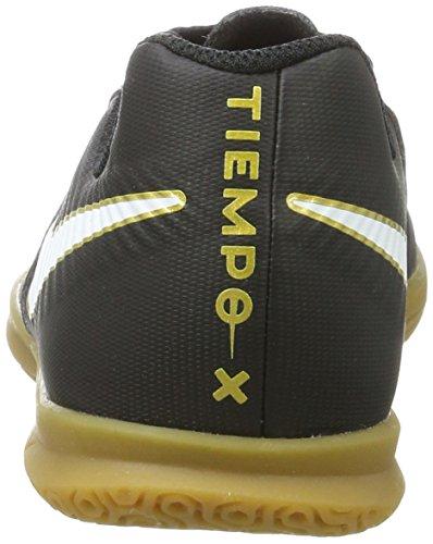 Nike Kids Jr Tiempox Rio Iv (ic) Scarpa Da Calcio Indoor Nera / Bianca