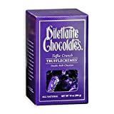 Toffee Crunch Truffle Crèmes in Double Milk Chocolate - 10oz Gift Box - by Dilettante (3 Pack)