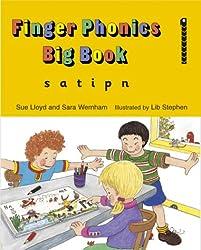 Finger Phonics Big Books, Set of Books 1-7 (Jolly Phonics)