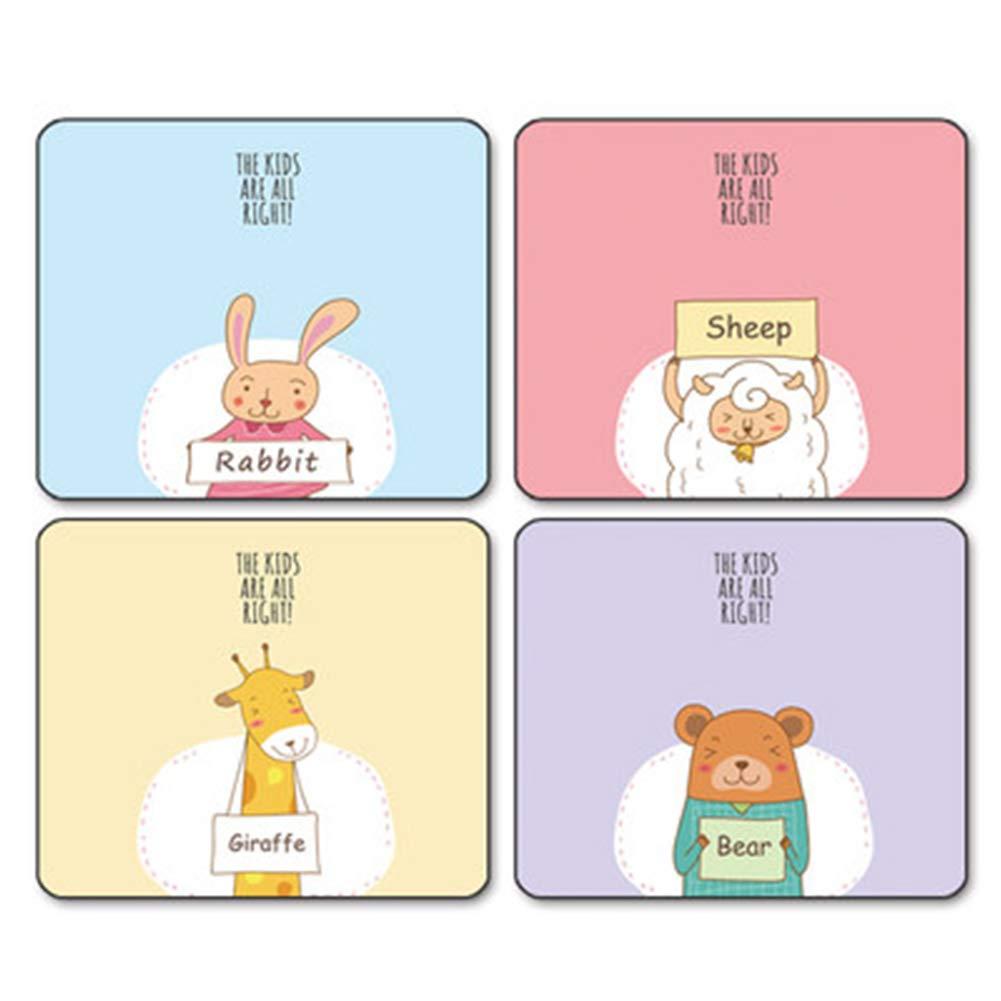 Alfombrilla Gruesa de ratón pequeña y Gruesa Alfombrilla con diseño de Anime Rosa para el hogar, Oficina, Coreana, 11.8 x 9.9 x 0.12 Pulgadas, 17, 300  250  3mm cdc379