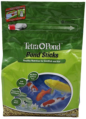 TetraPond Pond Sticks, Healthy Nutrition for Goldfish and ()