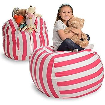 Amazon Com Creative Qt Stuffed Animal Storage Bean Bag