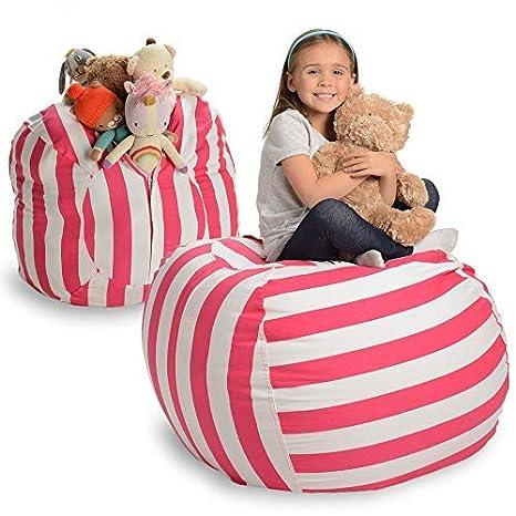 Creative QT Stuffed Animal Storage Bean Bag Chair   Extra Large Stuff U0027n  Sit Organization
