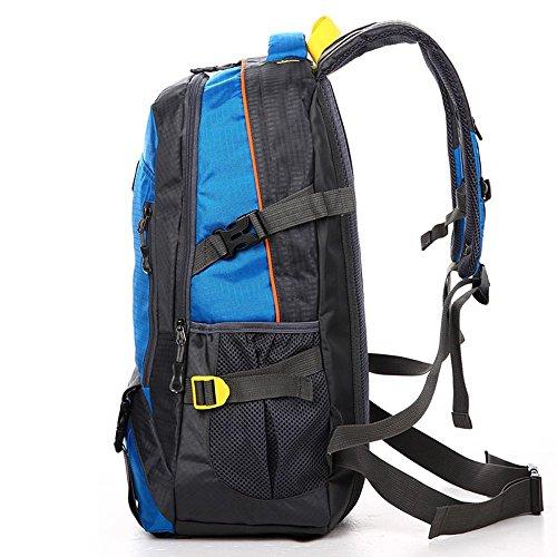 BUSL Hombros masculinos deportes al aire libre acampan yendo de excursión alpinismo 40L bolsas de las mujeres del bolso de gran capacidad de Viajes . c a