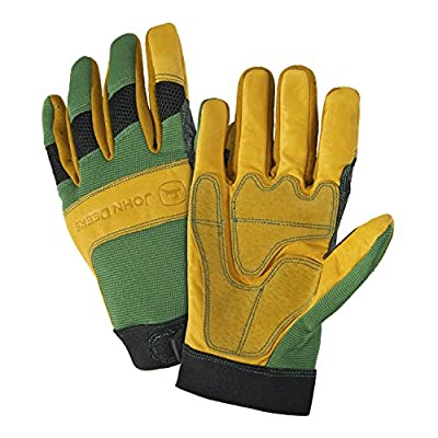 John Deere Cowhide Leather Gloves