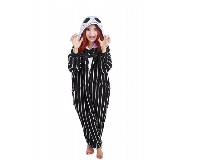 Mcdslrgo Unisex adulto Anime Cosplay Halloween Costume Onesie pijama pijamas