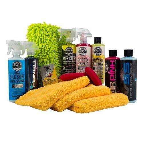 Kit Wash Car (Chemical Guys HOL123 Complete Car Care Kit (14 Items), 112 fl. oz)
