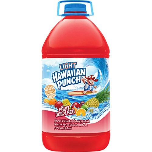 Hawaiian Punch Light Fruit Juicy Red, 1 gal bottles (Pack of 4)]()