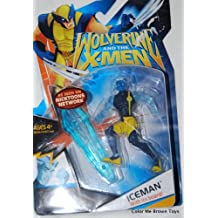 Wolverine and the X-men Animated Iceman With Ice Board Figure