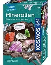 Kosmos 657901 Experimentlåda för Barn Mineraler, 7-11 År