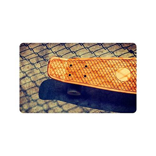 Special Design Custom 180 skateboard Personalized Non-Slip Machine Washable Bathroom Indoor/Outdoor Doormat 30 by 18 Inch