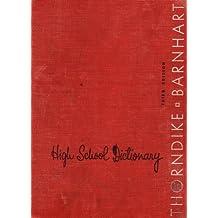 Thorndike & Barnhart High School Dictionary: Third Edition (624214)