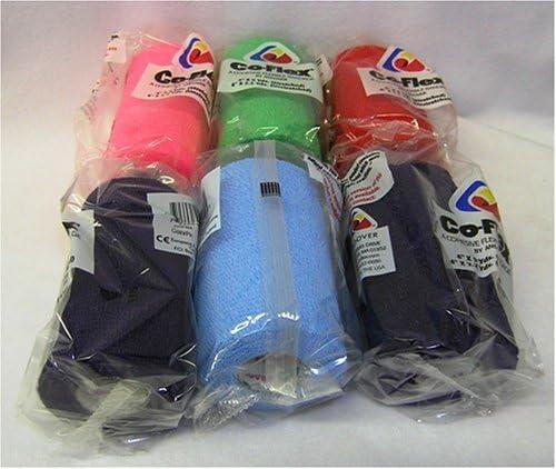 """B000B967XO Co-flex Elastic Bandage 4"""" Assorted Colors - 6 Per Bag By Andover Coated Products 51DR7EVH7QL"""