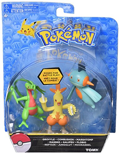 (TOMY Pokemon 3 Pack, Characters May Vary)