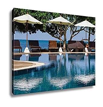 Ashley Canvas Swimming Pool Thailand Wall Art Decoration Picture Painting Photo Photograph Poster Artworks 20x25