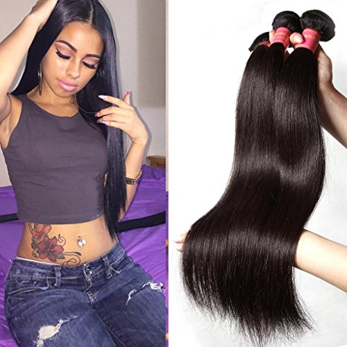 Brazilian Straight Bundles Unprocessed Extensions product image