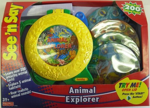 Fisher-Price See 'n Say Animal Explorer