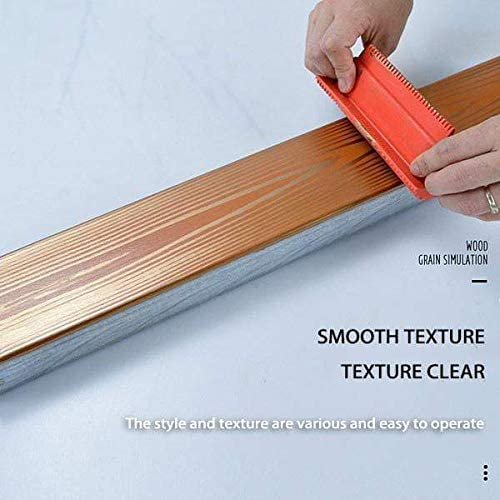 Imitation Wood Grain Paint Roller Wood Graining Rubber Painting Set Texture Pattern Painting Tool DIY Wall Decorate Home Style 2pc Wood Graining DIY Tool Set