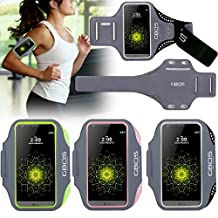 LG G3 Sports Armband, Black GBOS Sweat-Free,Gym,Running,Jogging,Walking,Hiking,Workout and Exercise Armband For LG G3 with Extra Adjustable-Length Extension Band