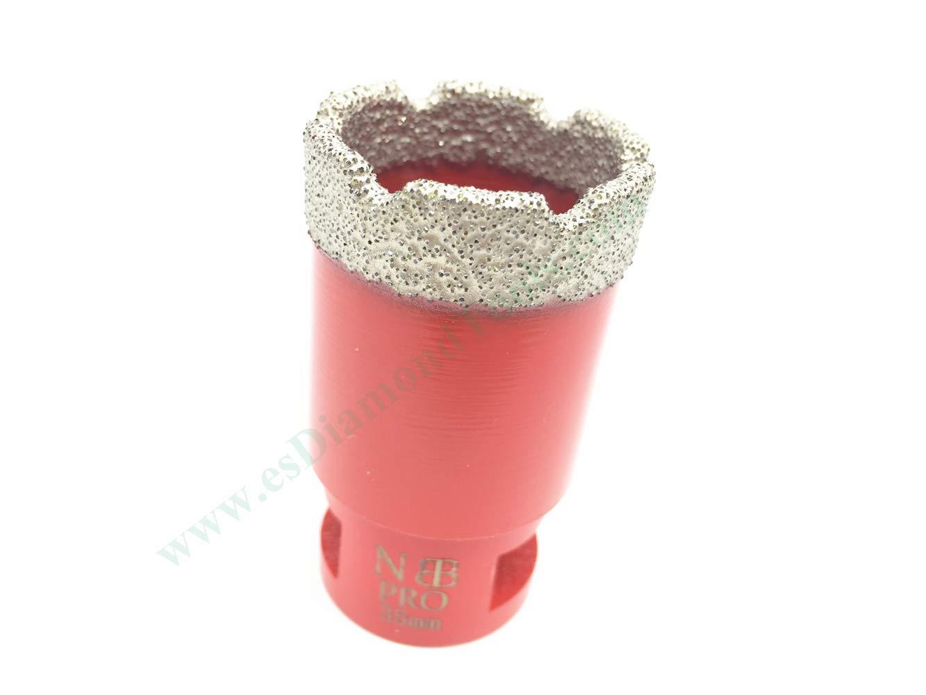 EASTAR m/èches /à diamant sec pour meuleuse dangle pour meuleuse dangle M14 c/éramique Dia.6mm pas besoin deau marbre granit carrelage per/çage /à sec en porcelaine