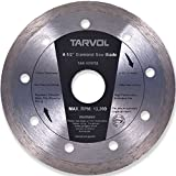 4.5' Circular Diamond Saw Blade (HIGH PERFORMANCE - INDUSTRIAL GRADE) 7.5mm Width Diamond Materials - Perfect for Cutting Tile & Other Masonry Work