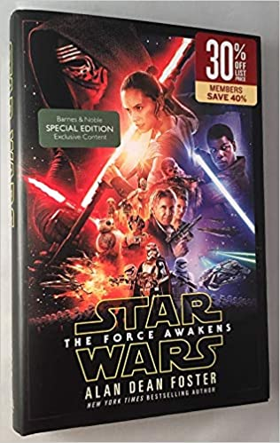 Star Wars The Force Awakens B N Special Edition With Exclusive Content Isbn 9781101885550 First Edition Printing Star Wars Foster Alan Dean 9781101885550 Amazon Com Books