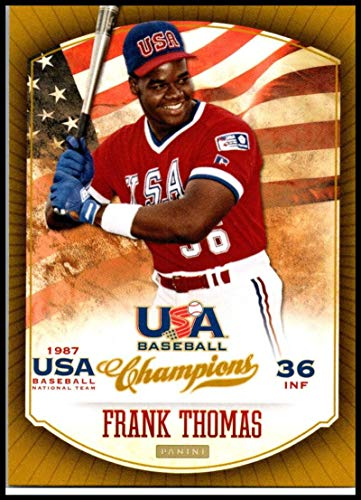- 2013 Panini USA Champions #15 Frank Thomas NM-MT