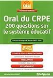 Oral du Crpe 200 Questions Sur le Systeme Éducatif