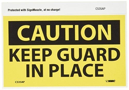 - NMC C535AP OSHA Sign, Legend