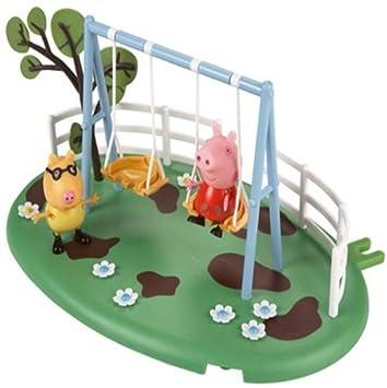 Peppa Pig  Parque de juegos columpio Bandai Amazones