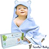 "Baby Hooded Towel - Baby Bath Towel for Infant, Toddler, Newborn, and Kids | Extra Soft Bamboo Hooded Towel, 100% Organic, 36x36"", 500 GSM, Oversized for Boys or Girls 