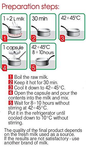 Bulgarian Starter Culture for Traditional Yogurt - natural - 10 capsules for 20 liters