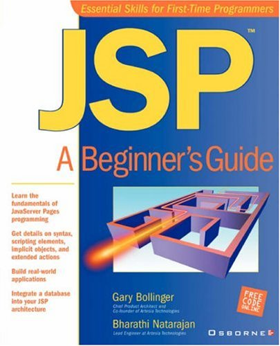 JSP: A Beginner's Guide by McGraw-Hill Companies