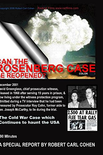 - CAN THE ROSENBERG CASE BE REOPENED?